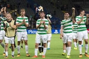 """""""Селтик"""" повторил рекорд Шотландии в Лиге чемпионов"""