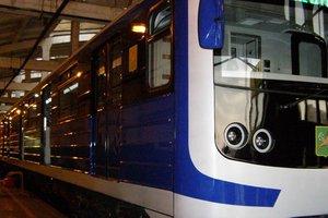 В метро Харькова запустят новый поезд местного производства