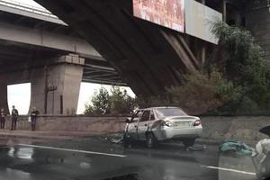 В Киеве под Дарницким мостом произошло смертельное ДТП