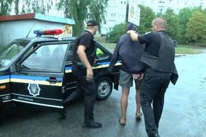 В Черкасской области вооруженный дебошир бросил в полицейских гранату