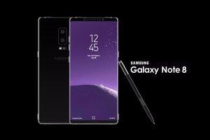 Samsung официально представил смартфон Galaxy Note 8