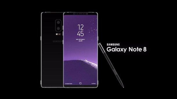 Samsung официально представил смартфон Galaxy Note 8, фото galaxy-droid.ru