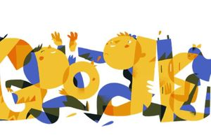 Google поздравил украинцев с Днем Независимости праздничным дудлом