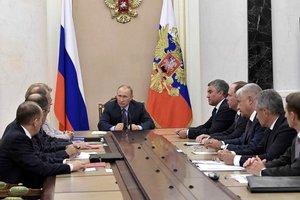 Путин провел совещание Совбеза РФ: говорили об Украине