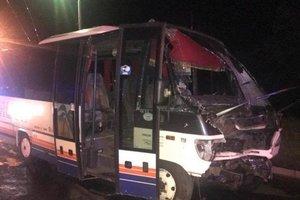В результате ДТП с участием автобуса в Одессе 12 людей получили травмы, один погиб
