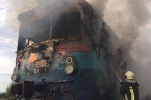 На Закарпатье во время движения загорелся пригородный поезд
