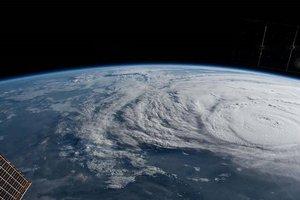 """Самый мощный за 12 лет ураган """"Харви"""": появилось видео из космоса"""