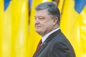 Порошенко: гимн Украины будет снова звучать в нашем Донецке