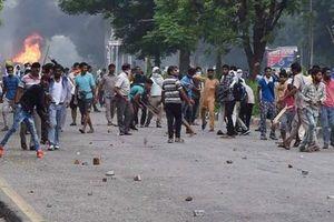 Количество жертв беспорядков в Индии возросло