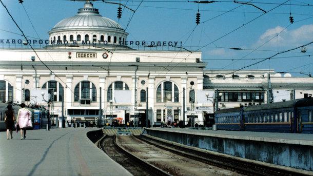 ВОдессе задержали мужчину, который грозил подорвать ж/д вокзал
