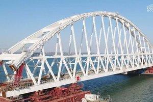 Строительство Керченского моста: появились новые фото