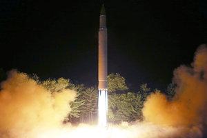КНДР произвела новый ракетный пуск