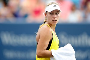 Чемпионка US Open Ангелик Кербер вылетела в первом раунде
