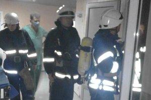 В киевском Институте рака произошел пожар