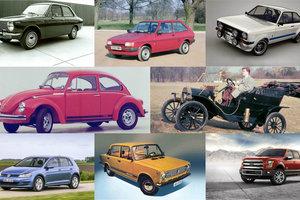 ТОП-10 самых продаваемых моделей авто всех времен