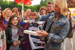Олег Винник выступил на Сорочинской ярмарке