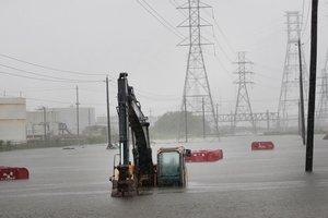 """Ураган """"Харви"""" обрушился на Луизиану"""