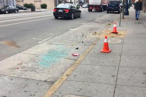 Автомобиль протаранил пешеходов в Сан-Франциско