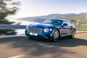 Bentley показал, каким будет новый седан Continental GT 2018