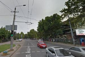 В Одессе на оживленной улице транслировали порно