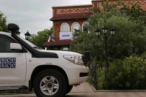 Наблюдатели ОБСЕ на Донбассе зафиксировали военную технику