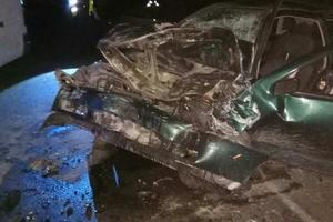 Лобовое столкновение авто во Львовской области: пострадали пять человек