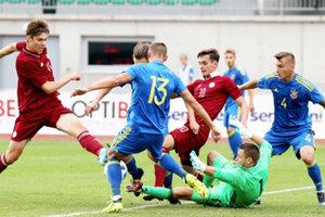 Украина начала отбор на молодежное Евро-2019 с ничьей