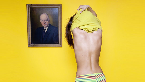 В Огайо женщинам запрещено раздеваться перед мужским портретом. Фото: Olivia Locher
