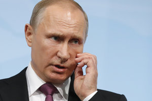 Путин отказался принимать участие в Генассамблее ООН