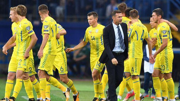 Футболисты украинской сборной прибыли вИсландию