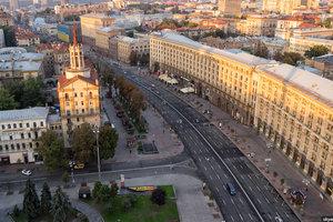 В Киеве из-за праздника перекроют Крещатик