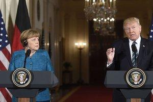 Меркель и Трамп выступают за усиление санкций в отношении КНДР