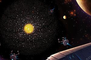 """Астрономы поймали """"радиосигнал пришельцев"""" из далекой галактики"""