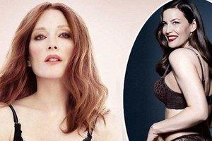 Лив Тайлер и Джулианна Мур снялись в рекламе нижнего белья