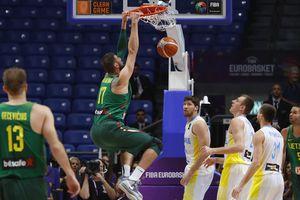 Литва разгромила Украину на Евробаскете-2017