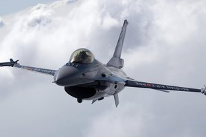 F-16 Fighting Falcon. Кадр YouTube