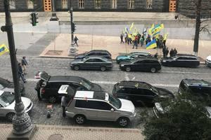 Протест с перекрытием дорог в Киеве: чего хотят активисты и как отреагировали в соцсетях