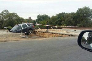 Ужасное ДТП на мосту: под Винницей разбился внедорожник Porsche, есть жертвы