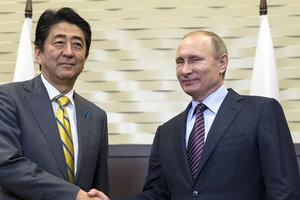 Спор между Россией и Японией: Абэ и Путин договорились