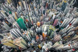 Невероятные снимки Гонконга с высоты птичьего полета