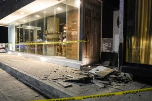 Перебои с электричеством и взрывы: в Мексике произошло землетрясение