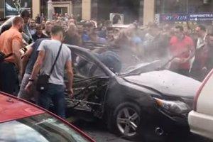 Во время взрыва авто в Киеве пострадала всемирно известная модель - СМИ