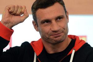 Кличко поздравил Усика с победой