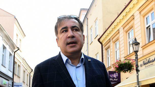 Михеил Саакашвили. Фото: AFP