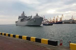 В Одессу прибыл корабль ВМС Турции