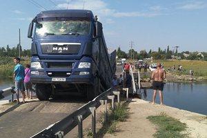 Падение моста в Николаевской области: стали известны подробности
