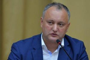 Додон обратился к украинским властям из-за нового закона об образовании