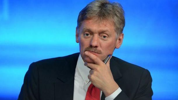 Песков заявил оготовности России начать переговоры помиротворцам вДонбассе