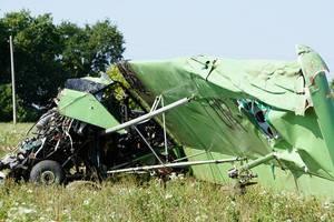 Крушение самолета под Харьковом: появились фото
