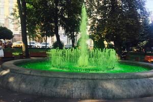 В Киеве на Подоле вандалы поиздевались над фонтаном